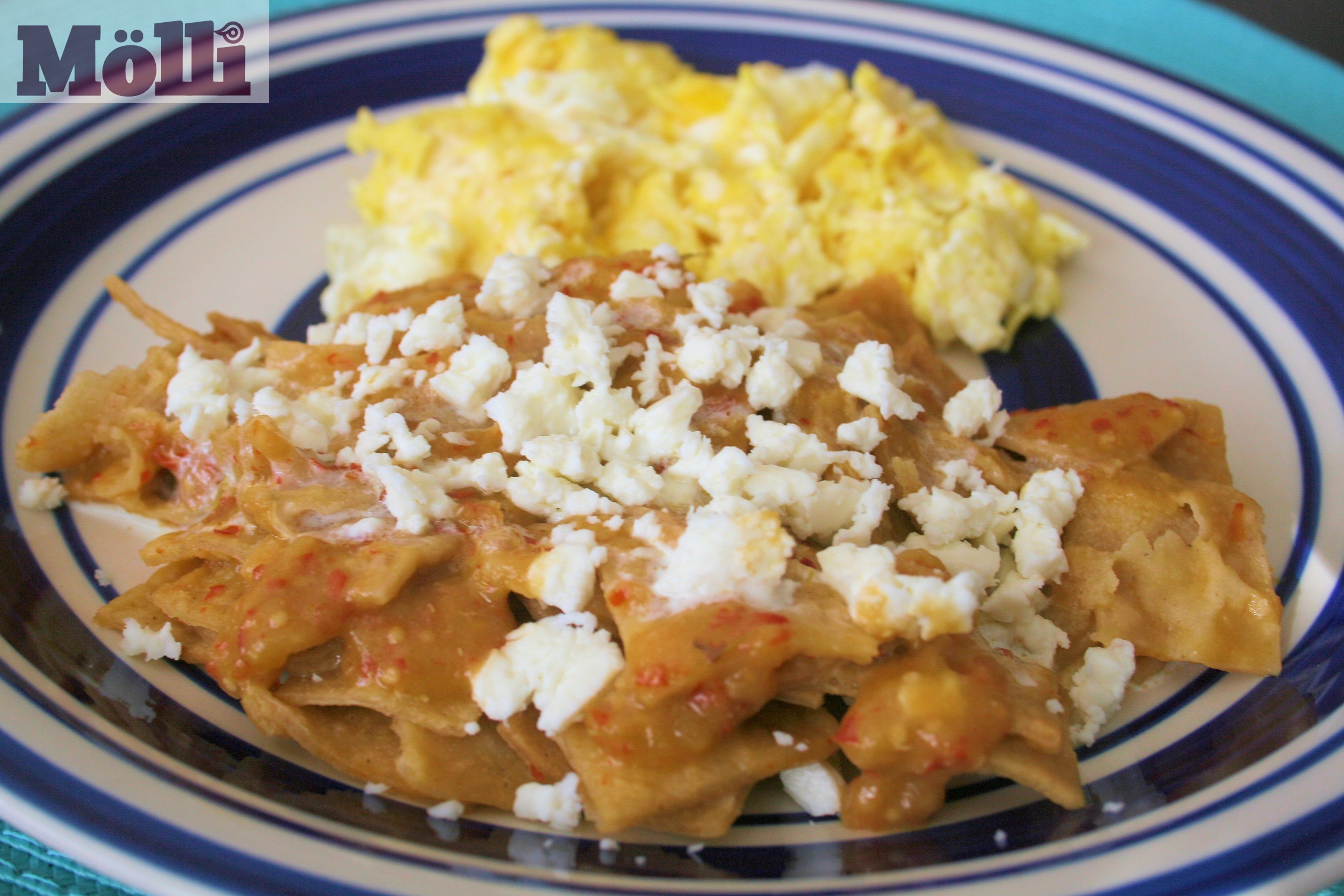 ... Other Breakfast-Brunch Green chilaquiles (Chilaquiles verdes