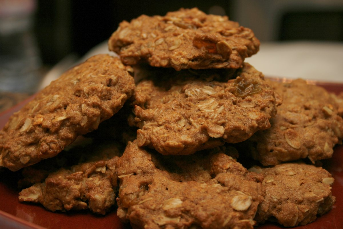 Healthy Oatmeal Cookies - BigOven 179608