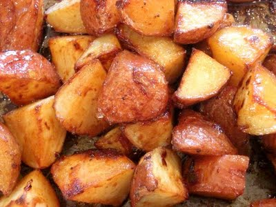 Recipes Course Side Dish Potatoes Honey Roasted Red Potatoes