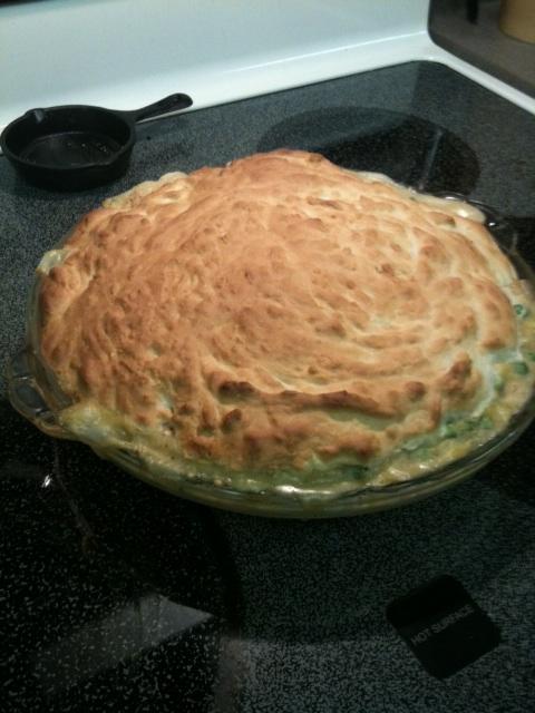 Impossibly Easy Chicken Pot Pie - BigOven 168398
