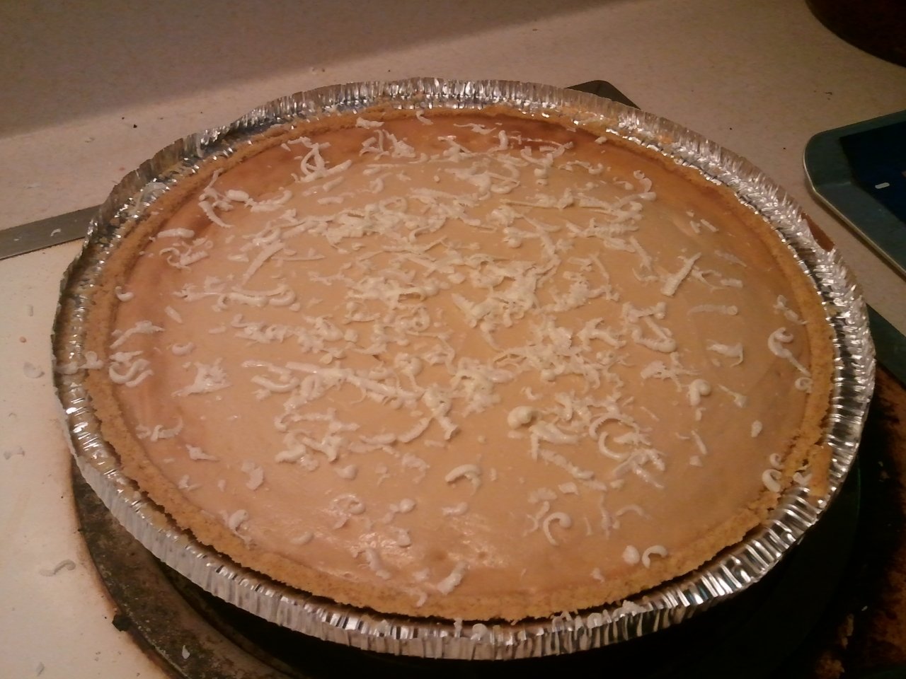 http://foodsofourlives.com/2012/11/irish-cream-caramel-cheesecake/