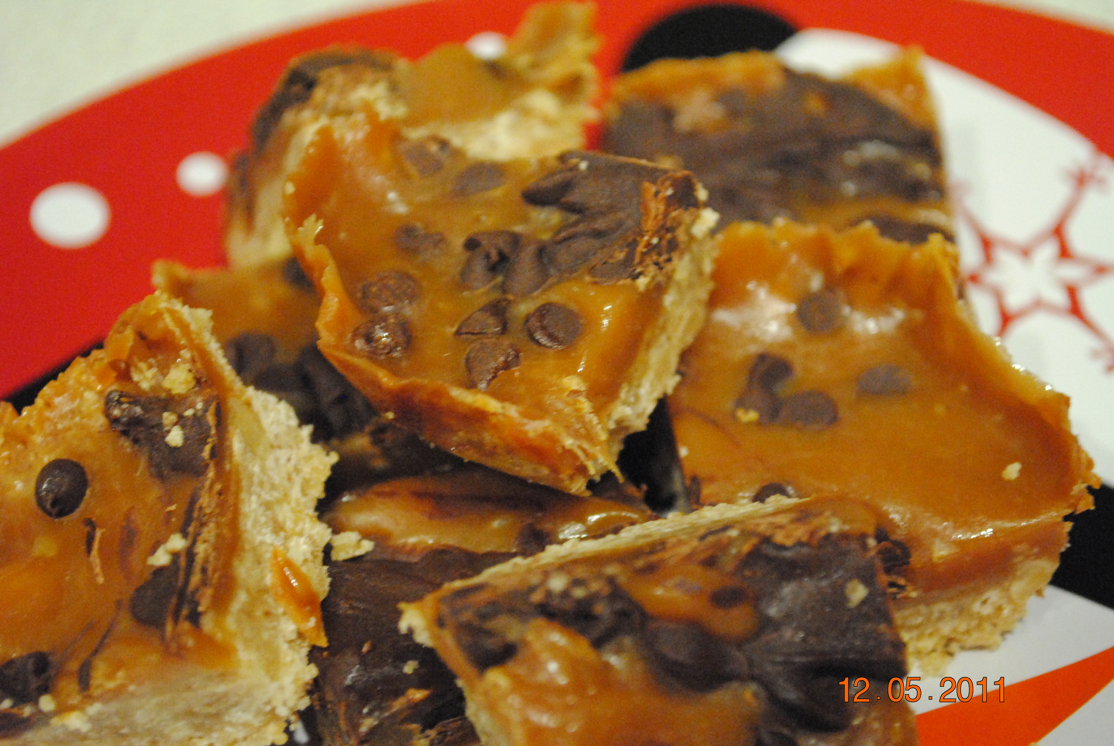 Recipes Course Desserts Cookies and Bars Jodie's Pecan Turtle Bars