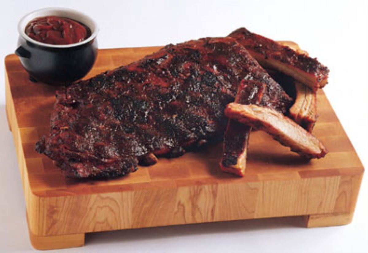 Recipes Course Main Dish Ribs Kansas City-Style Ribs w/ Spicy Apple ...