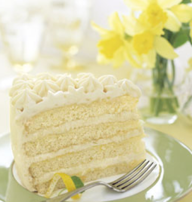 Recipes Course Desserts Cakes Lemon Curd Layer Cake