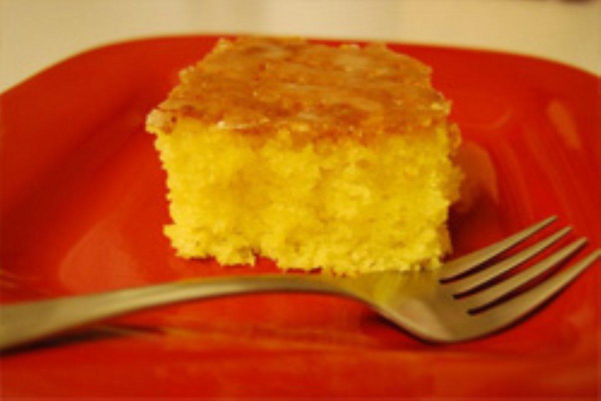 Lemon Jello Cake With White Cake Mix