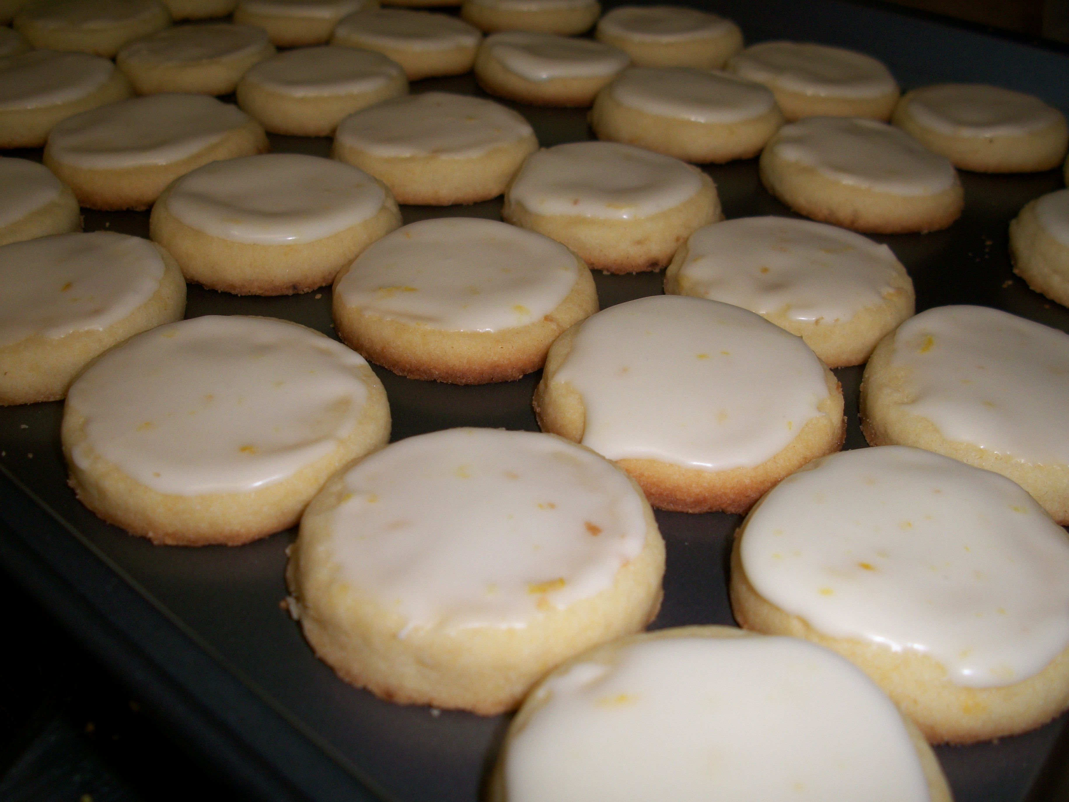 Recipes Course Desserts Cookies and Bars Lemon Shortbread Cookies From ...