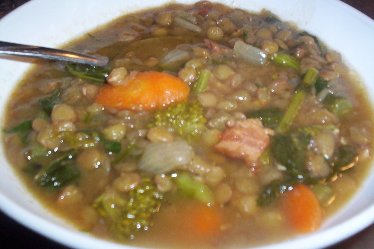 Recipes Course Soups, Stews and Chili Vegetable Lentil Soup