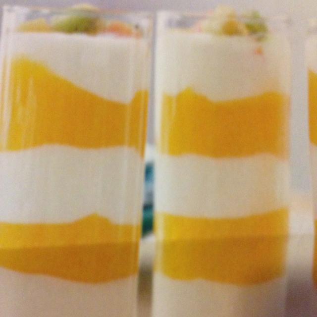 Recipes Course Desserts Desserts - Other Mango and Yogurt Parfait