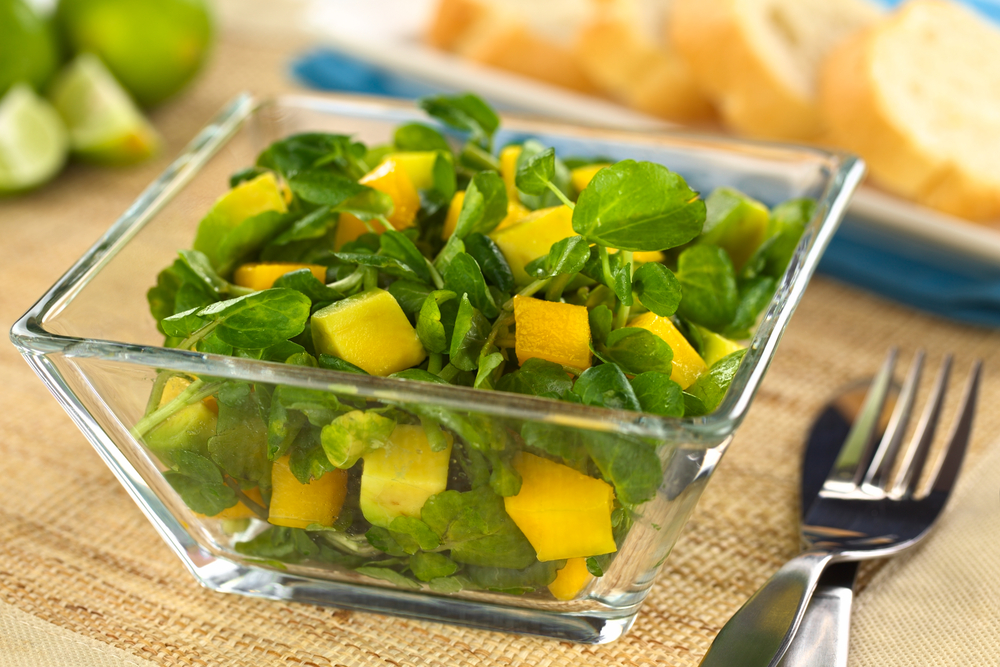 Avocado And Mango Salad With Passion Fruit Vinaigrette Recipes ...