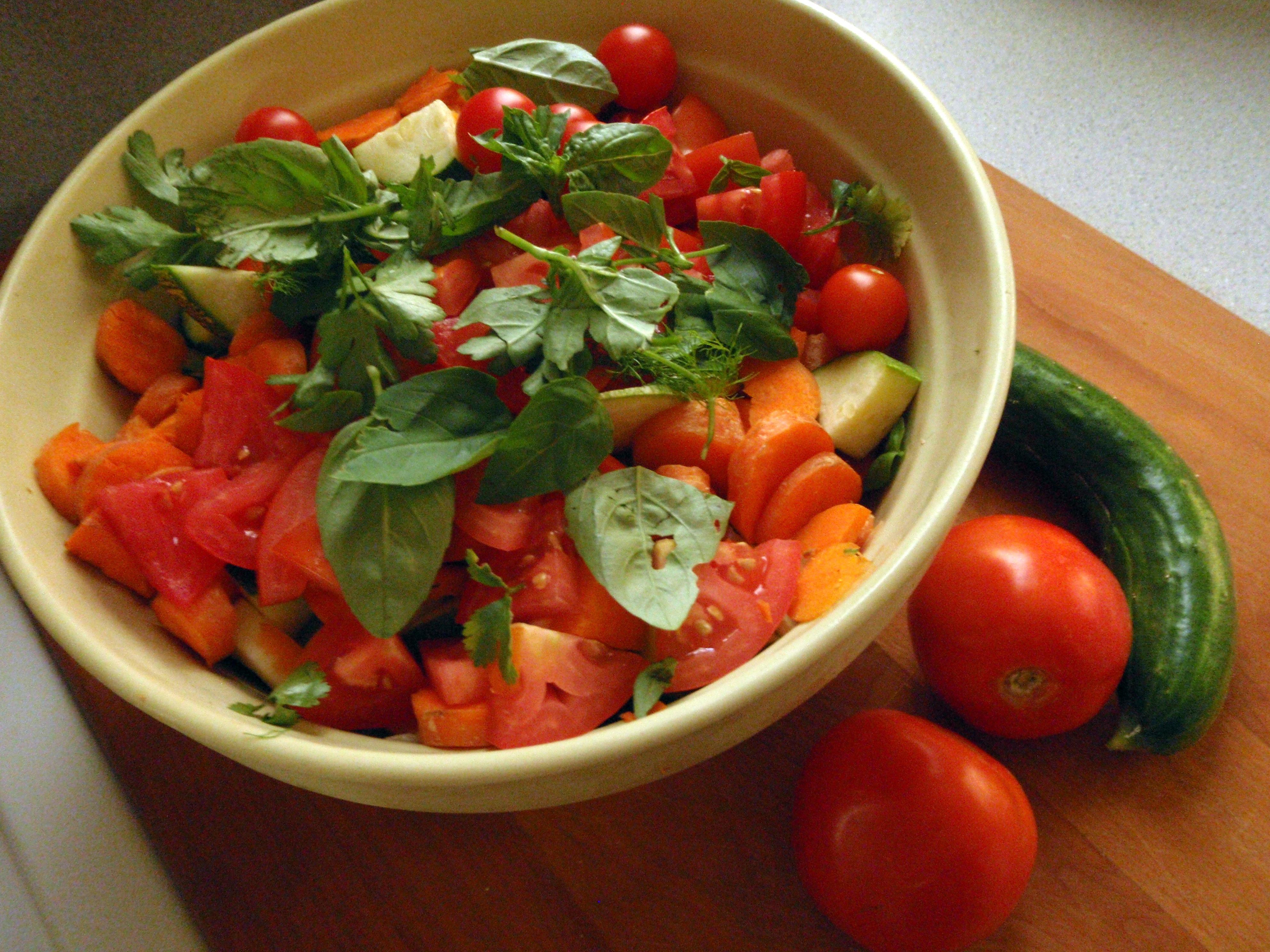 Recipes Course Salad Bean Mediterranean Chickpea Salad