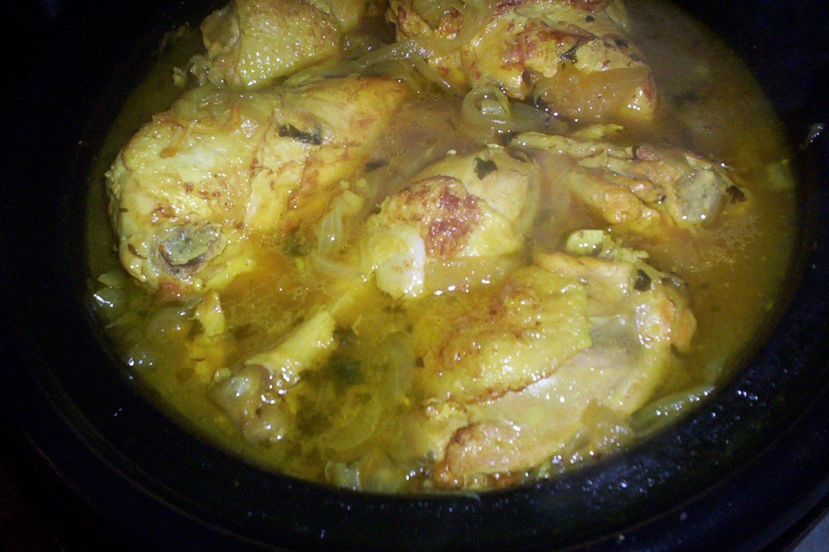 Recipes Course Main Dish Poultry - Chicken Moroccan Lemon Chicken