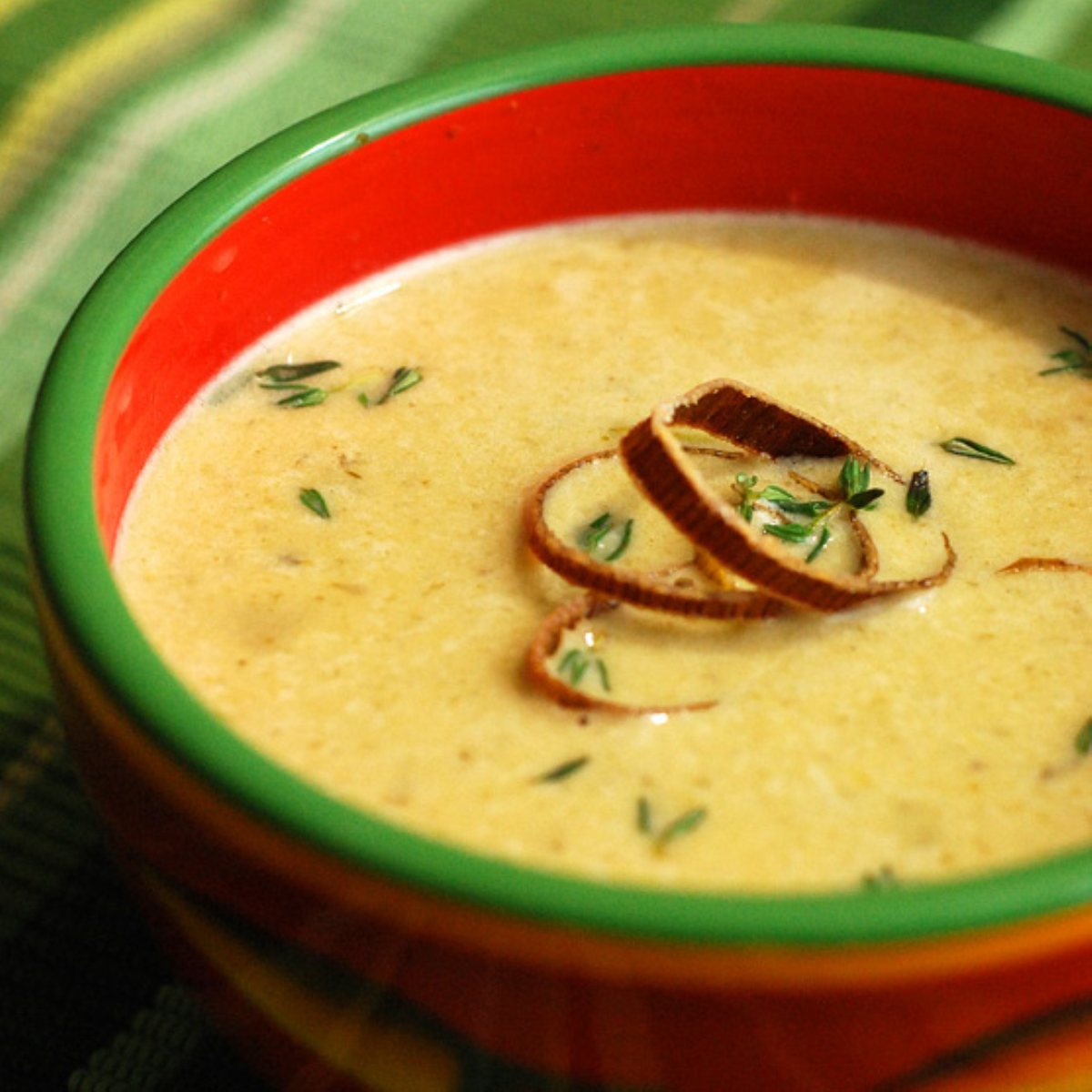 ... and Chili Cream-style Soups Nibble Me This Artichoke & Spinach Bisque