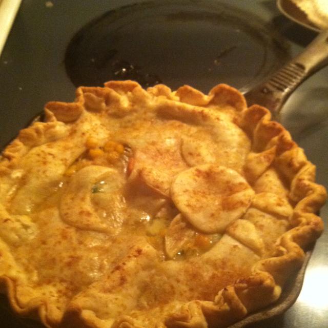 Old Fashioned Chicken Pot Pie Recipe — Dishmaps