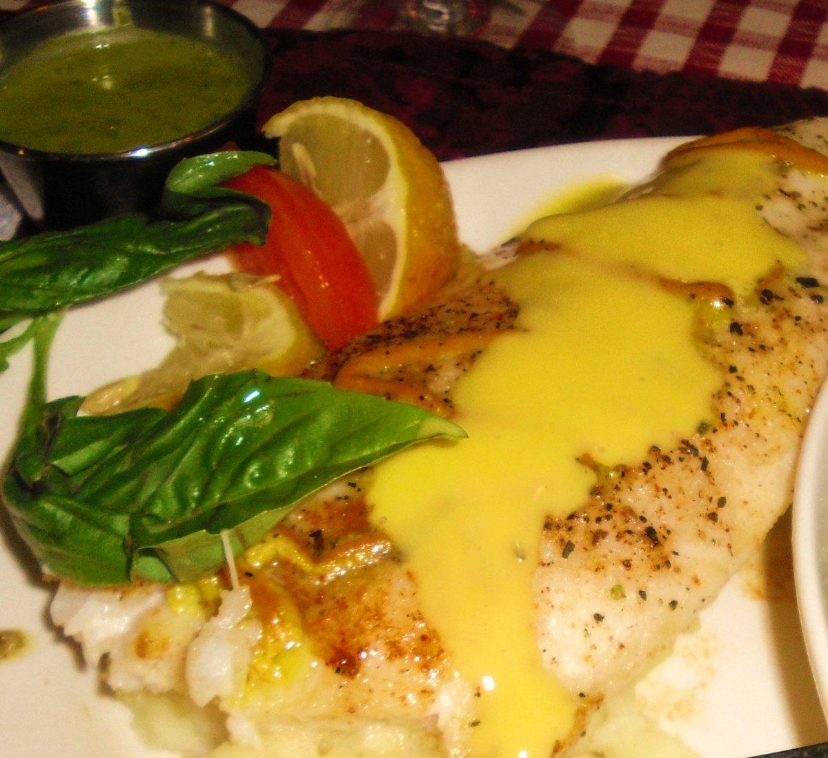 ... Course Main Dish Fish and Shellfish Orange Roughy in Wine Sauce