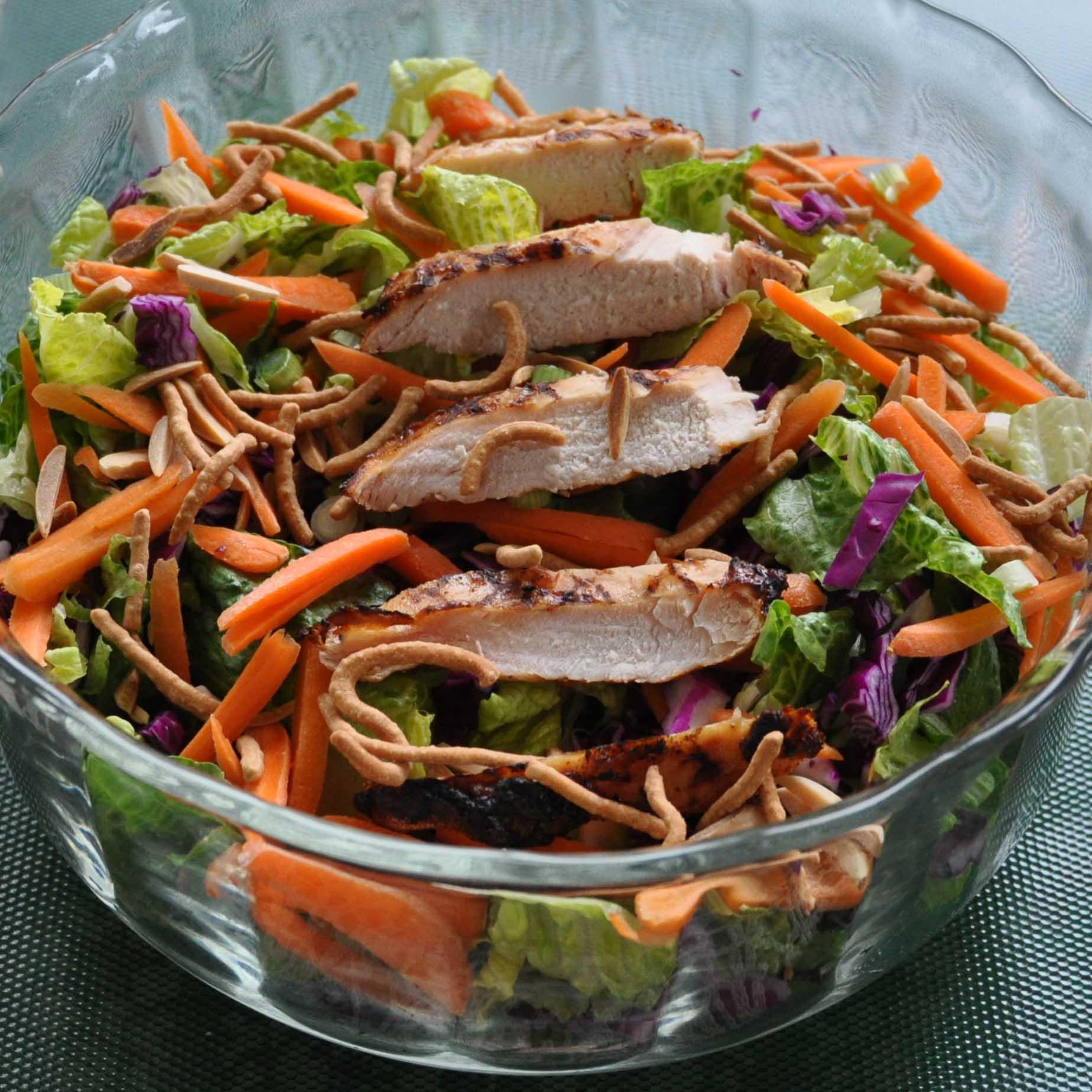 Recipes Course Salad Green Salads Oriental Chicken Salad