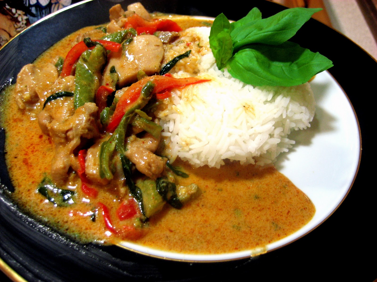 Recipes Course Main Dish Poultry - Chicken Panang Chicken Curry