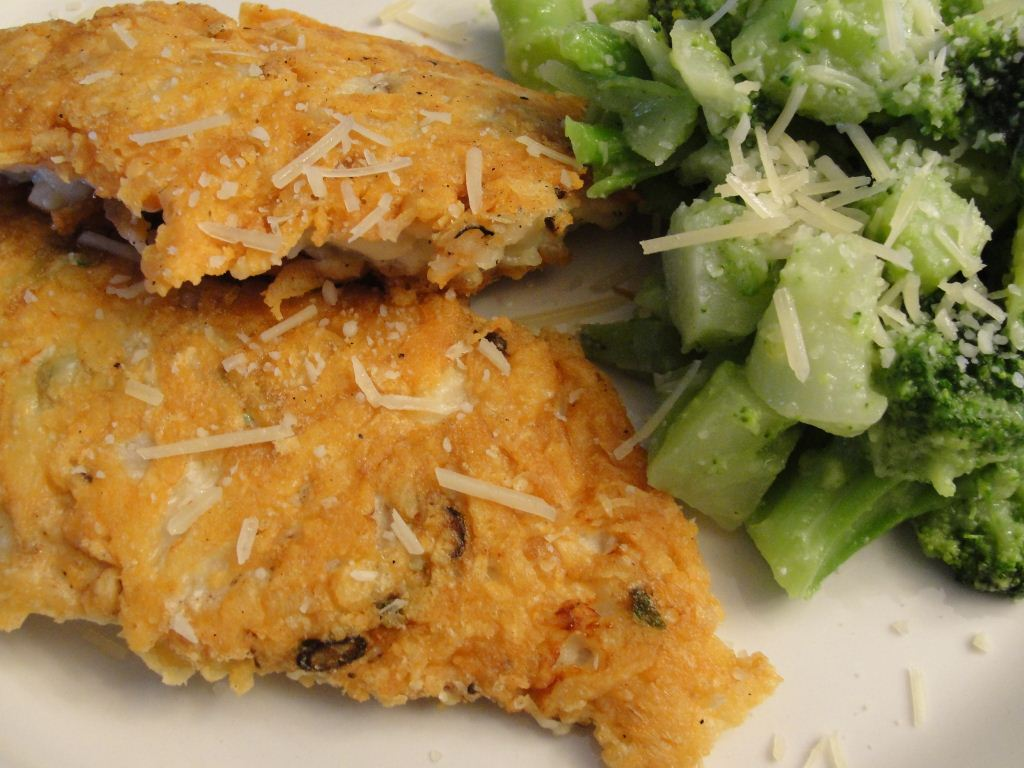 Main Dish Poultry - Chicken PARMESAN-CRUSTED CHICKEN CUTLETS (17