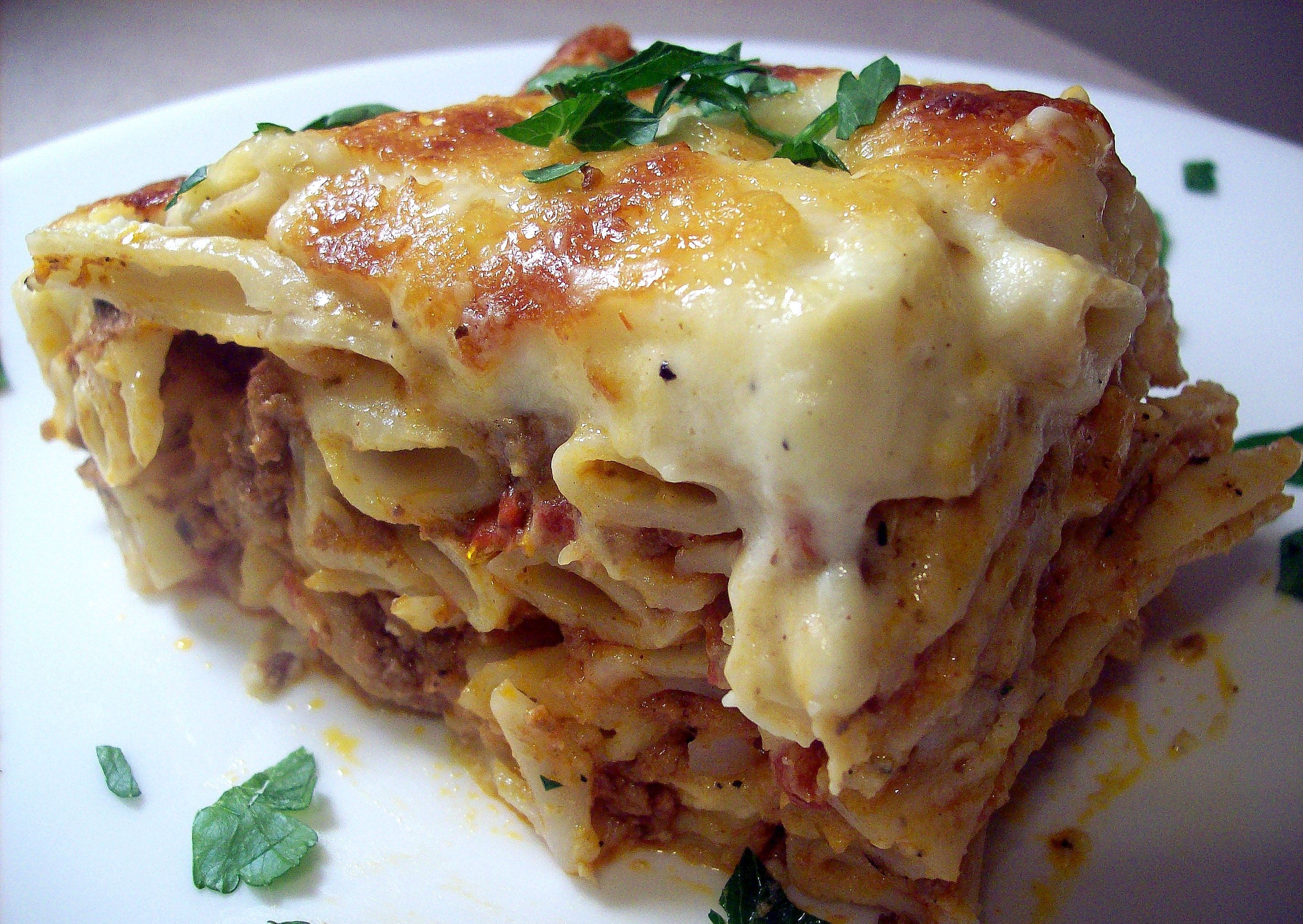 Recipes Course Main Dish Main Dish - Other Pastitsio - Greek Lasagna