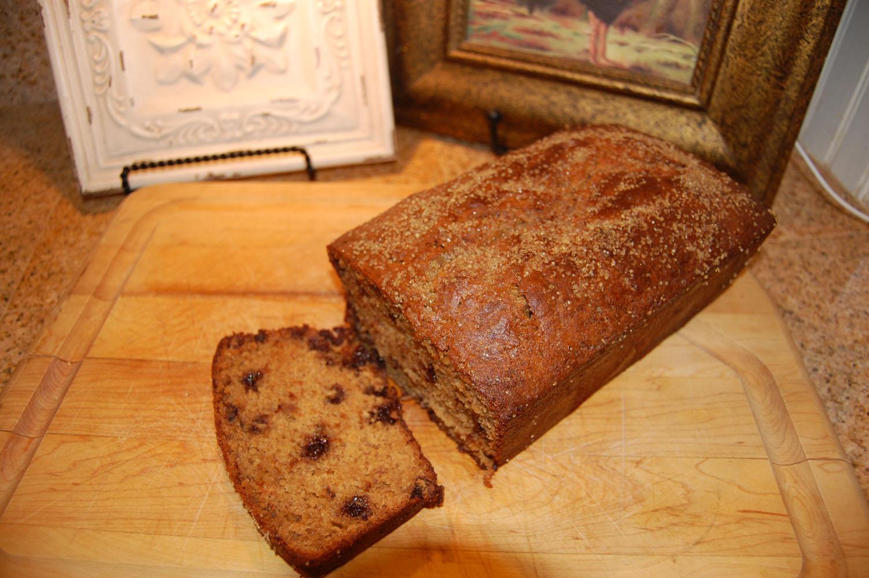 ... Course Bread Banana Bread Peanut Butter Chocolate Chip Banana Bread