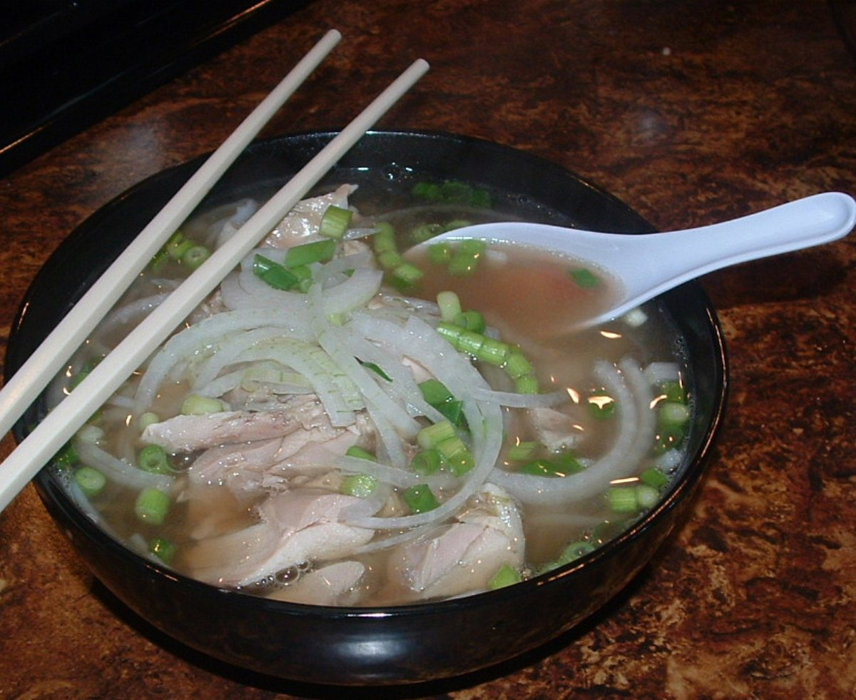 ... Stews and Chili Noodle Soups Pho Ga - Vietnamese Chicken Noodle Soup