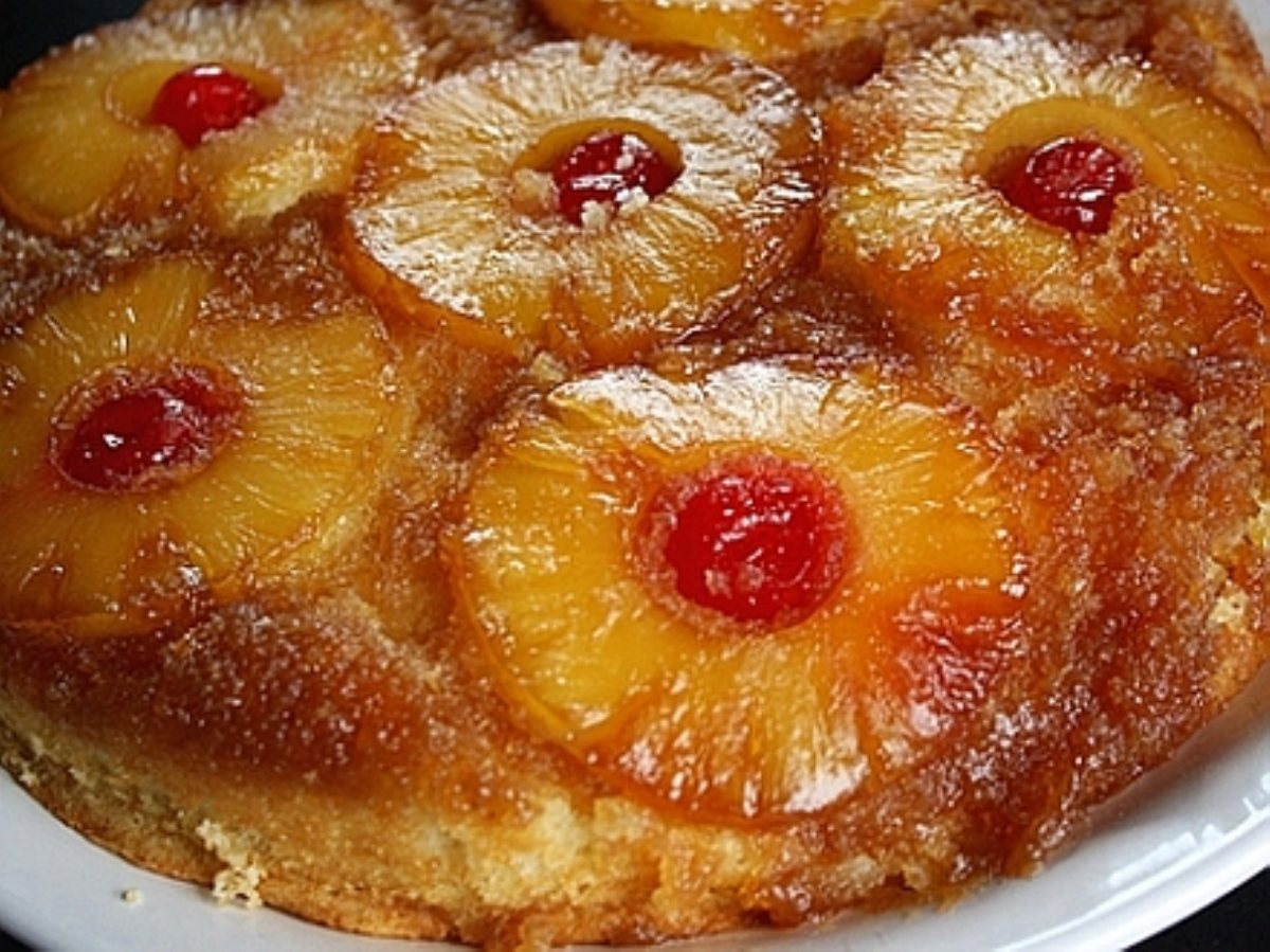 Skillet Pineapple Upside Down Cake Recipe — Dishmaps