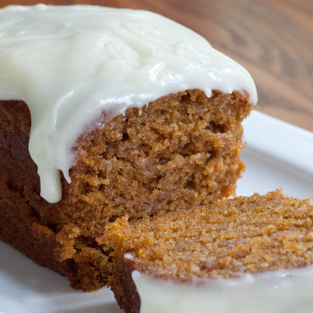 Pumpkin Loaf/Cupcakes with Cream Cheese Icing - BigOven 167340