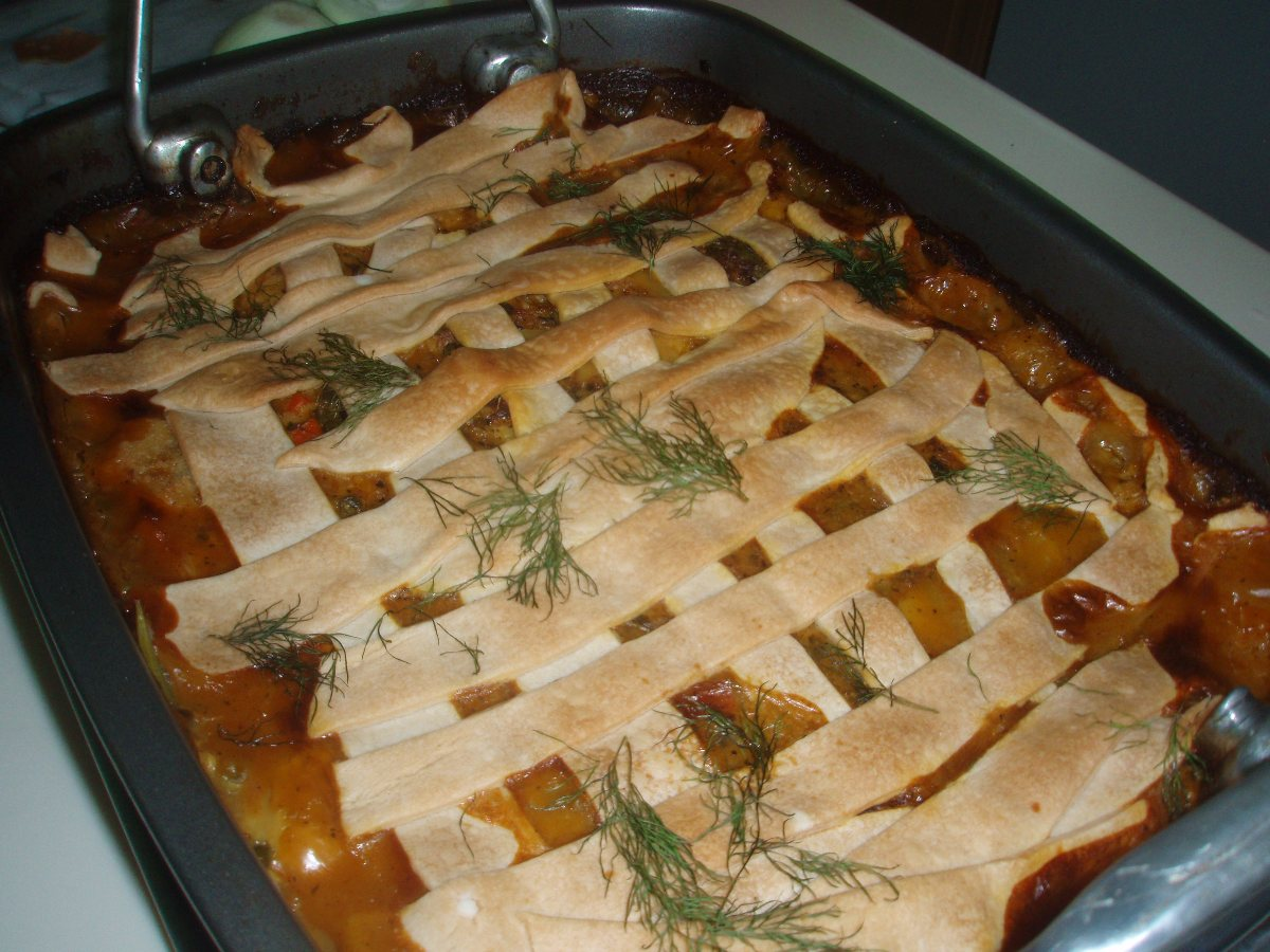 ... Dish Quiche and Savory Pies Quick and Easy Homemade Chicken Pot Pie
