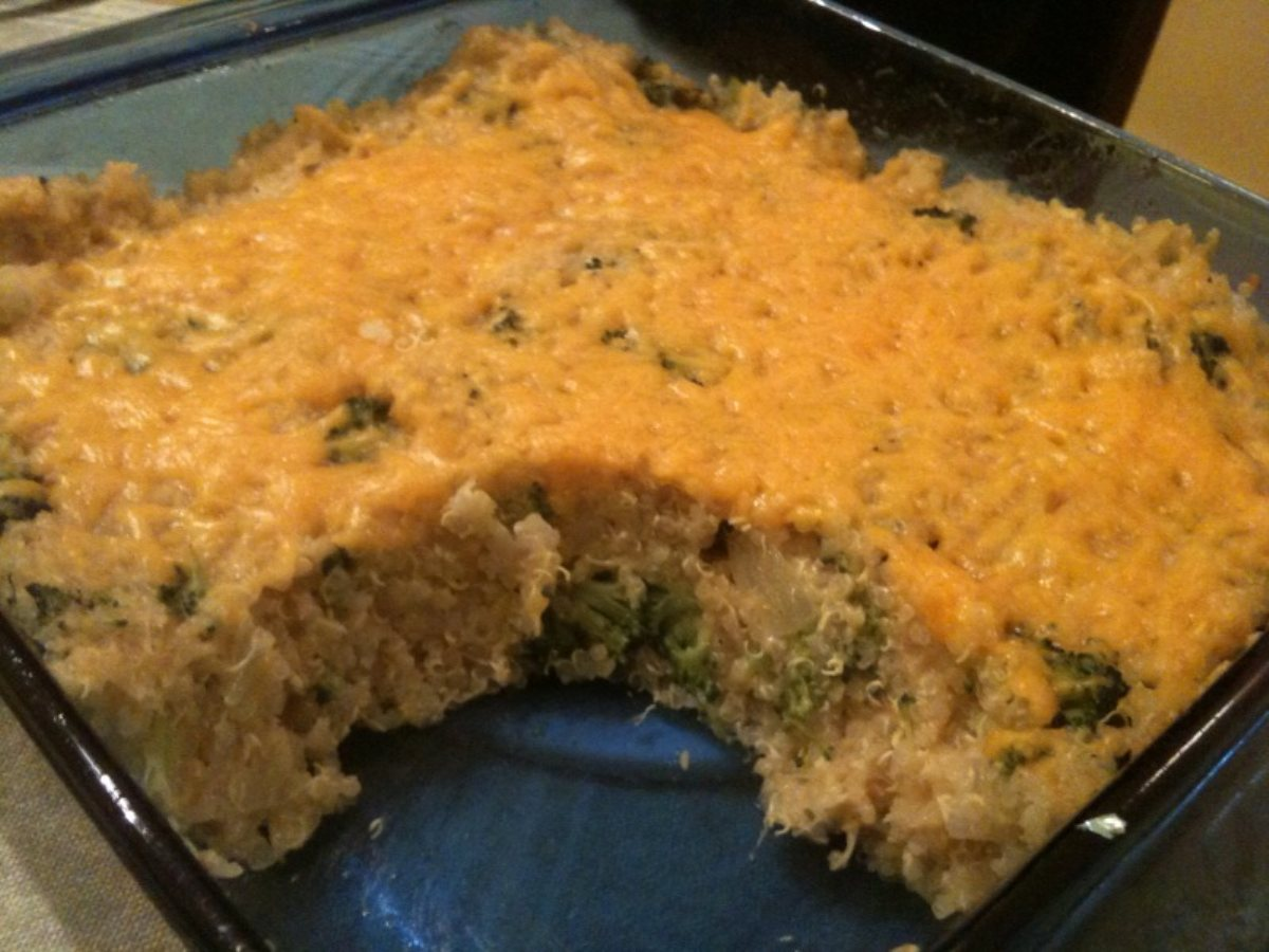 ... Main Dish Main Dish - Other Quinoa, Broccoli, & Cheese Casserole