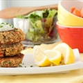 15 minute Salmon Cakes