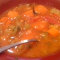 5 Minute Vegetable Soup ( in Pressure Cooker )