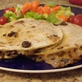 A1 Onion & Mushroom Quesadillas