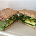 Aaron's  Training-Program Cucumber Sandwich