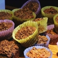 All Bran Muffins made with Splenda and unsweetened Applesauce