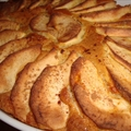 Almás lepény (Hungarian apple pie)