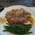 Almond Crusted Talapia