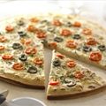 Alouette Style White Pizza