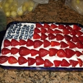 American Flag Cake