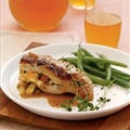 Andrew's Apple Stuffed Chicken with Cider Cream Sauce