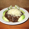 Angel Hair Pasta with Ancho Chile Sauce (Sopa Seca De Fideo