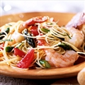 PASTA-SEAFOOD- Angel hair w/ shrimp