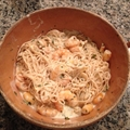 Angel Hair with Shrimp & Lemon Cream Sauce