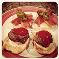 Angry Bird Mini Burgers