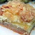 Apple Almond Bars