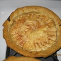 Apple Frangipane Galette