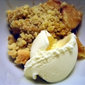 Apple Gingerbread Cobbler