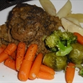 Apple-icious Crock Pot Pork Roast