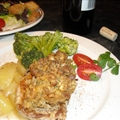Apple Pork Chops With Stuffing