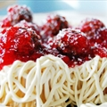 April Fools Day Spaghetti Cupcakes