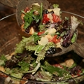 Artichoke & Sun-dried Tomato Salad with Parmesan-romano Vinaigrette
