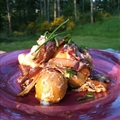 Ashley Stone's Blue Cheese Caramelized Onion Potato Salad